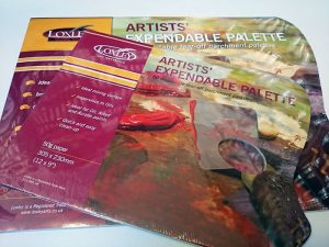 Loxley Artists' Expendable Palette