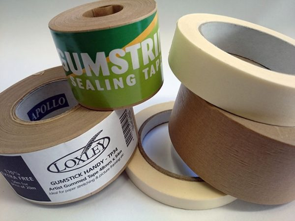 Tapes - Gumstrip and Masking